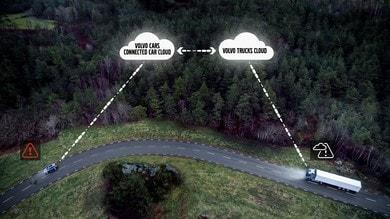 Volvo, i camion connessi le nuove sentinelle della strada