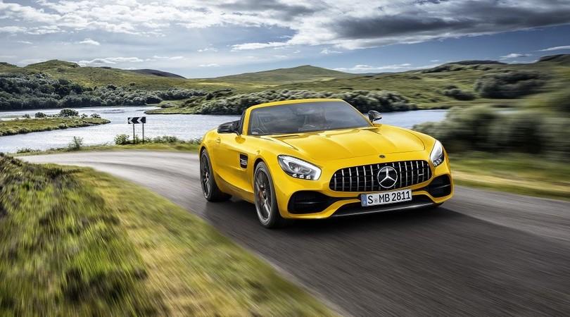 Mercedes-AMG GT S Roadster: tris scoperto