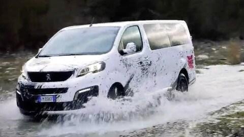 Peugeot Traveller Dangel 4x4, tuttofare integrale