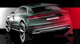 Audi Q8, il Suv coupé di lusso atterra il 5 giugno