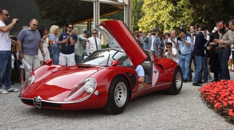 Alfa Romeo 33 Stradale, la regina di Villa d'Este 2018