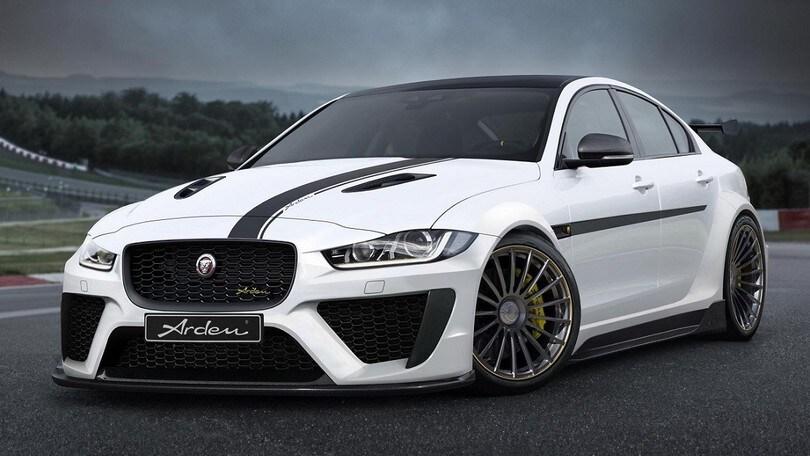 Arden AJ 24 RS, Jaguar XE diventa un sogno proibito