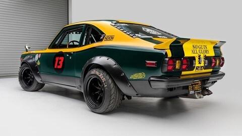 Mazda RX-3, rotativo da Museo: foto