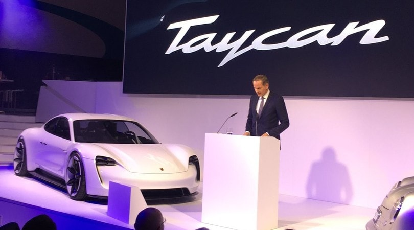 Taycan, il puledro elettrico di Porsche è pronto
