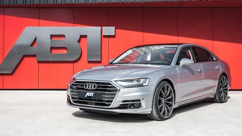 Audi A8, l'elettronica ABT esalta la 50 TDI