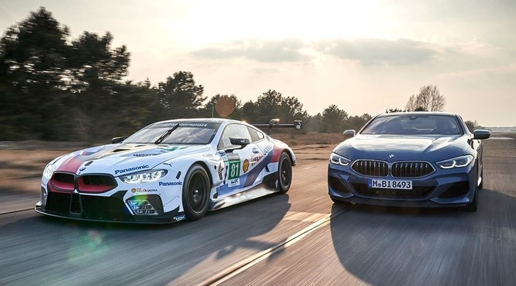 Bmw Serie 8 Coupé: l'estrema tentazione si svela a Le Mans