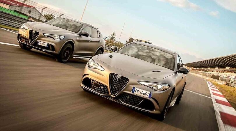 Alfa Romeo Stelvio E Giulia Nring Instant Classic Da Collezione