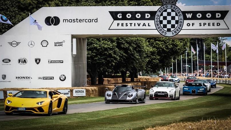 Goodwood, un festival di novità a tutta velocità