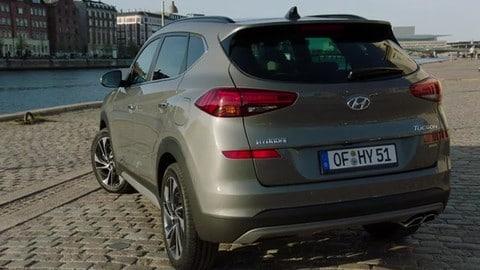 Hyundai Tucson restyling, nuovi Diesel 1.6 da e 2.0 mild hybrid a gasolio