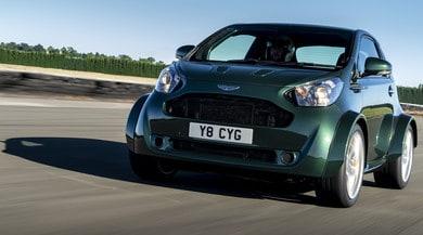 Aston Martin Cygnet V8, la city car fa spettacolo