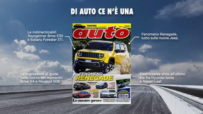 Il nuovo numero di Auto è in edicola dal 15 luglio