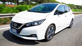 Nissan Leaf E-Plus, 60 kWh di prestazioni e autonomia extra