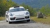 Cayman da rally, Porsche nel fango e anticipa il futuro di 718?