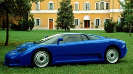Il misterioso crack della Bugatti EB 110