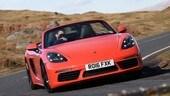 Porsche 718 Boxster, nuova Spyder ancora nel segno del 6