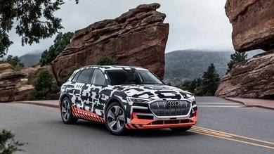 Audi e-tron Prototype, il recupero si fa in tre