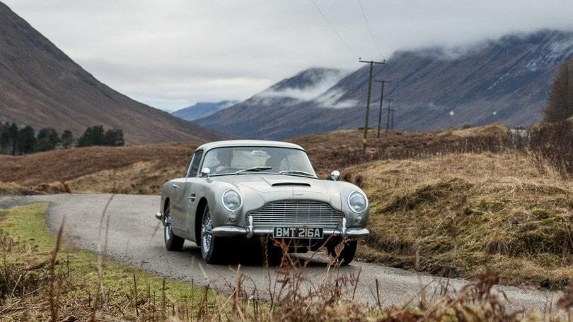 Aston Martin DB5, da Goldfinger la storia Continua(tion)