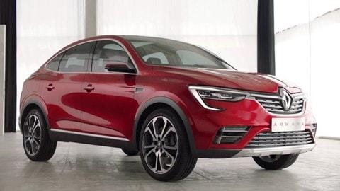Renault Arkana Concept: il video