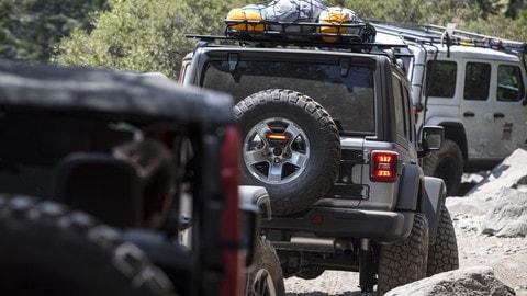 Jeep Rubicon Trail 2018. Avventura off-road sulle strade dei pionieri americani
