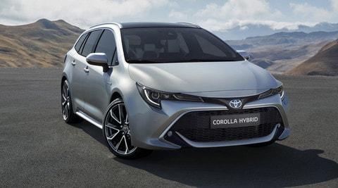 Toyota Corolla Touring Sports: le foto