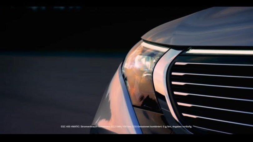 Mercedes EQC: il video