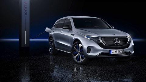 Mercedes EQC: le foto