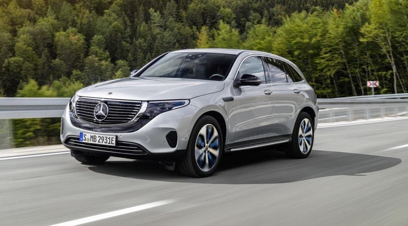 Nuova Mercedes EQC: l'anteprima elettrificata