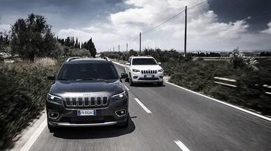 Nuova Jeep Cherokee, primo test in Sicilia