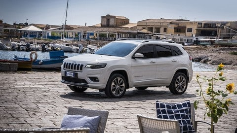 Jeep Cherokee 2019, il test in Sicilia: foto