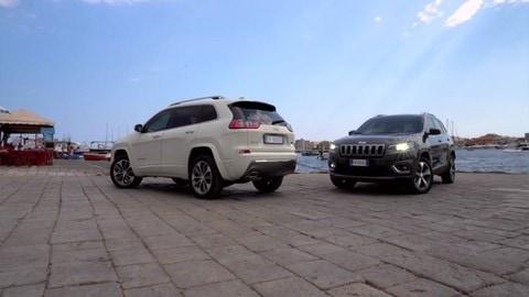 Jeep Cherokee 2019: il debutto in Sicilia