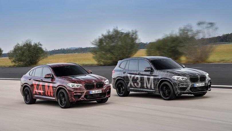 BMW X3 M e X4 M, stanno arrivando le muscolari a ruote alte