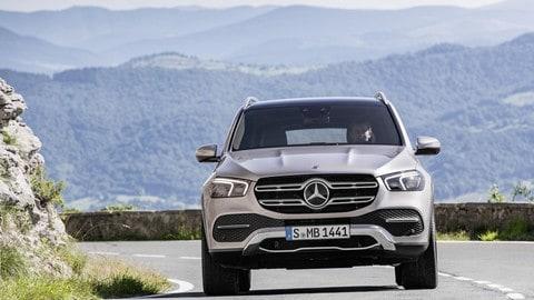 Nuova Mercedes GLE: foto