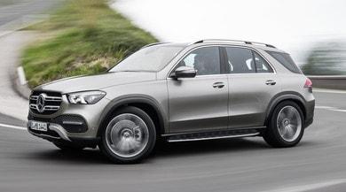 Nuova Mercedes GLE, non solo ibrido: anche le sospensioni recuperano energia