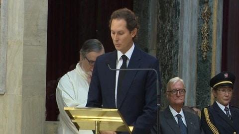 Marchionne, oggi l'omaggio al Duomo di Torino, le parole di John Elkann: video