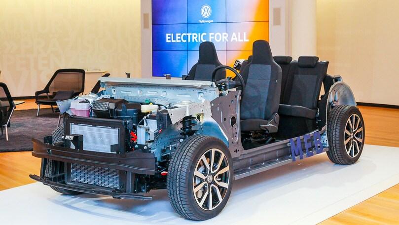 Volkswagen, l'offensiva elettrica si chiamaMEB