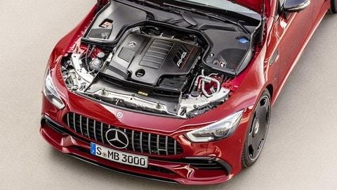 Mercedes-AMG GT 4 porte EQ Boost: foto
