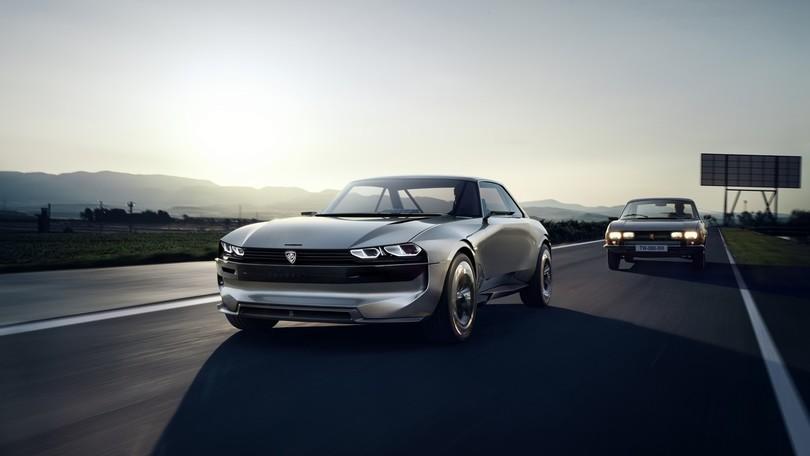 Peugeot e-Legend Concept, prove di intelligenza artificiale