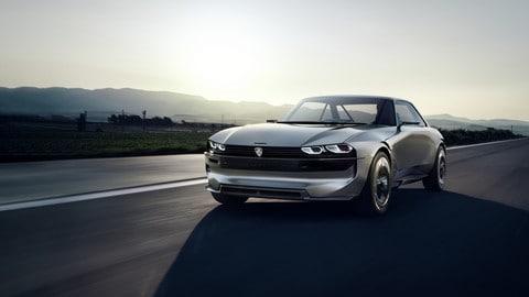 Peugeot e-Legend concept: foto