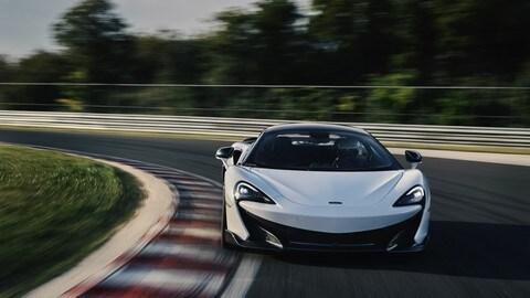 McLaren 600LT in pista