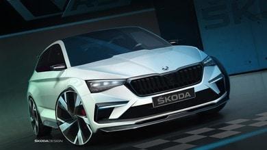 Skoda Vision RS, spunta l'ibrido plug-in delle compatte VW