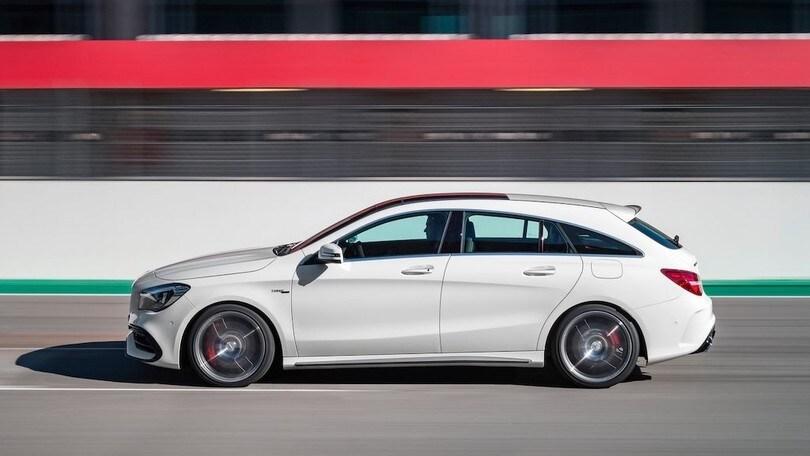 Nuova Mercedes Cla Shooting Brake Secondo Atto Nel 2019 Auto It