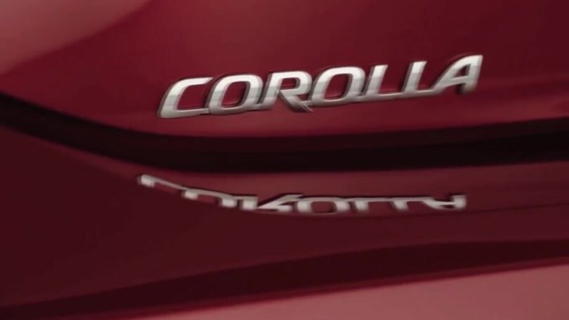 Nuova Toyota Corolla 2019: video