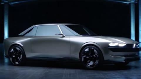 Mondial dell'Auto di Parigi - PEUGEOT E-Legend - intervista a Giulio Marc D'Aberton