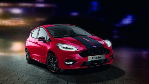 Ford Fiesta ST-Line: Red e Black Edition