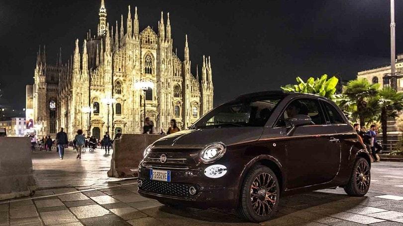 Fiat 500 Collezione a Milano, regina di stile
