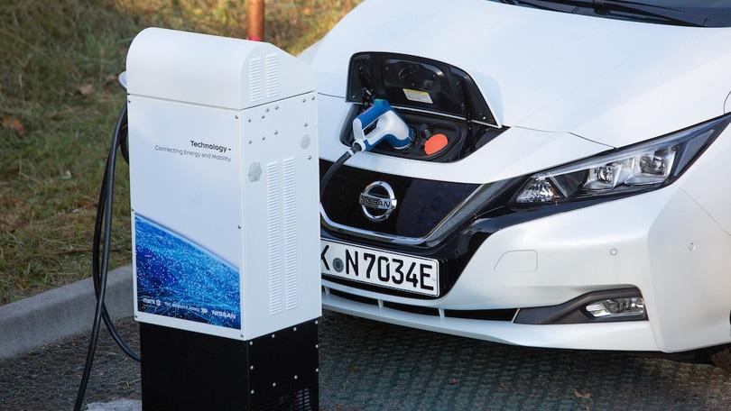 Nissan Leaf regala stabilità elettrica: è la prima auto certificata in Germania