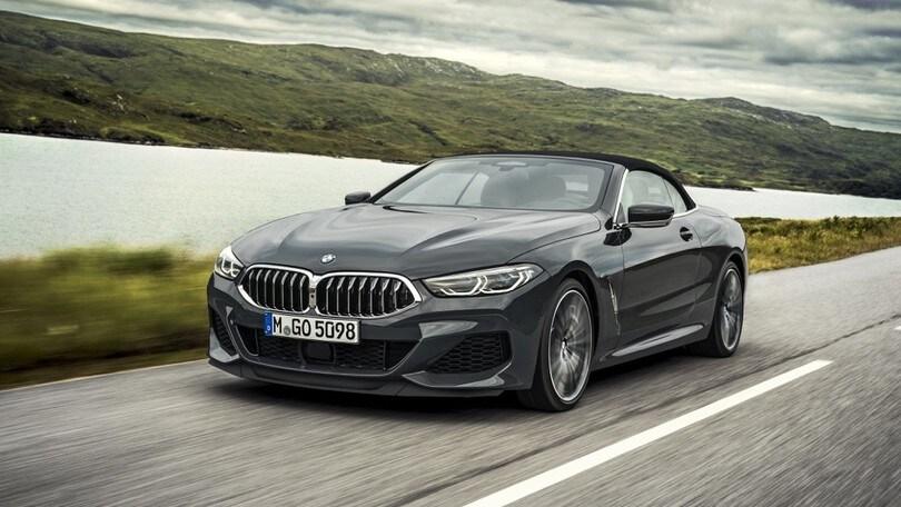 BMW Serie 8 cabrio, fuori in 15 secondi: all'aria aperta con M850i e 840d