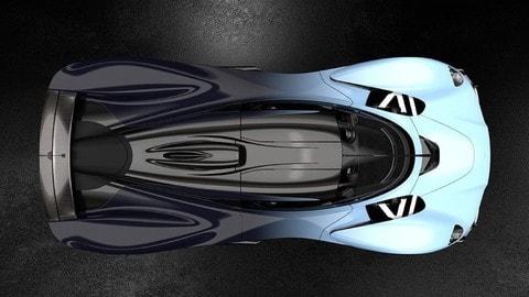 Aston Martin Valkyrie, nuove immagini dell'hypercar