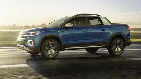 Volkswagen Tarok, SUV-pickup per il Brasile