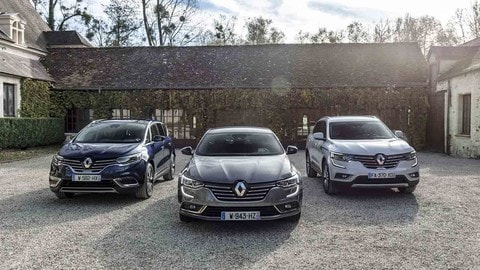 Renault, gamma premium con Espace, Koleos e Talisman